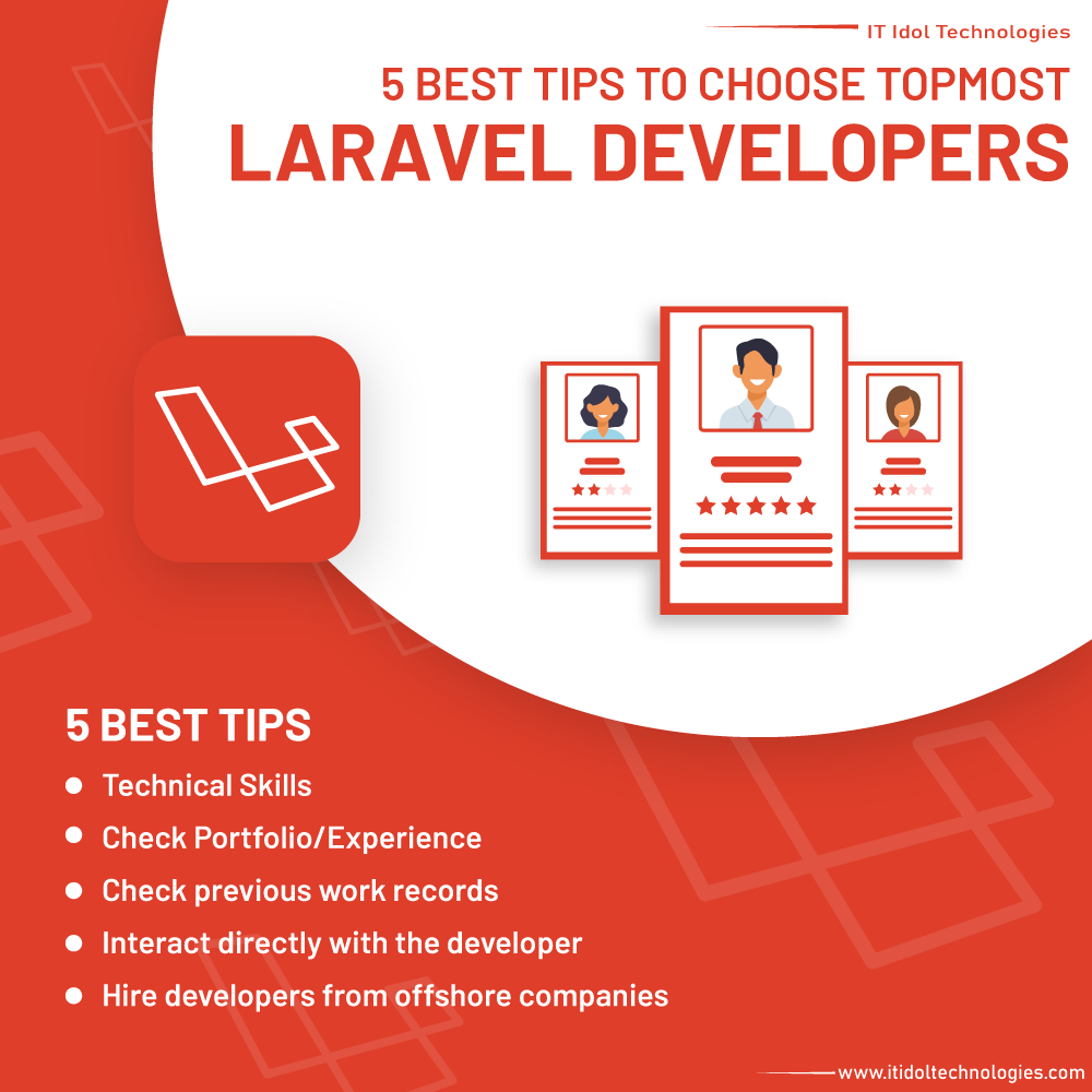 5 Best Tips to choose topmost laravel developers